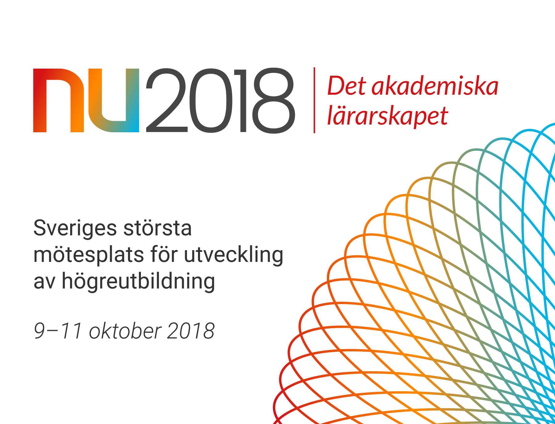 Stående logotype för NU2018